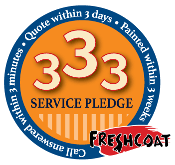 Fresh Coat's Customer Service Pledge